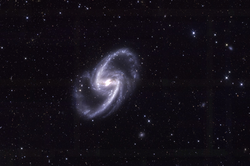 NGC 1365 by DES